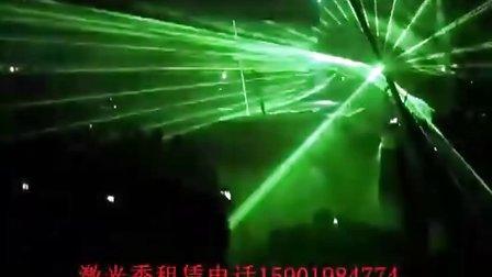 2011东方骆驼发布会激光秀