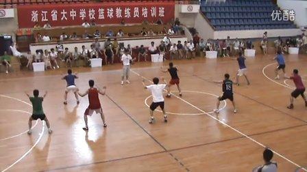 篮球c级教练员-李春雷——2011年浙江省大中学校C级篮球教练员培训班视频