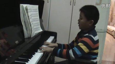 钢琴练习《南泥湾》