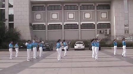 柔力球集体表演自编套路《家乡美》