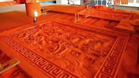 木工雕刻机视频|红酸枝牌匾雕刻视频