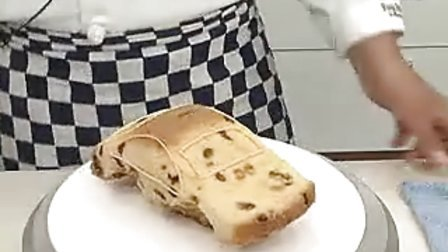 汽车造型蛋糕_标清