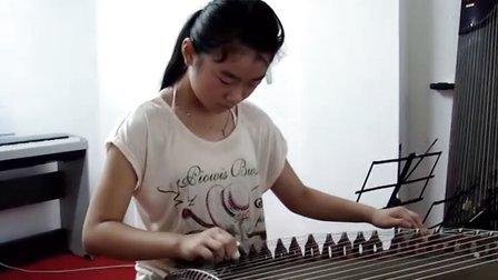 连云港木乐艺术培训学生古筝回课视频《杨柳青》