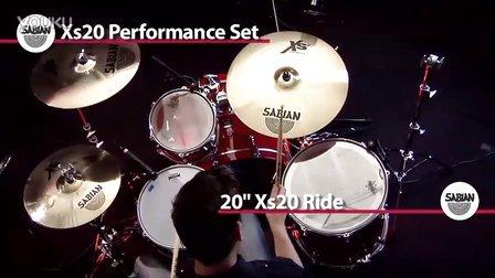 Sabian 镲片演示系列 十七  高清 Xs20 Perfromace Set WEB