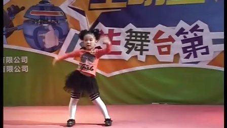 卡酷七色光全明星2011-10-22刘箫函《甩葱歌》舞蹈