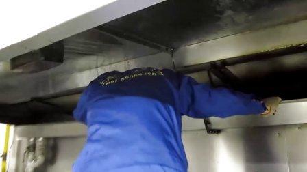 油烟管道清洗_油烟管道清洗过程视频