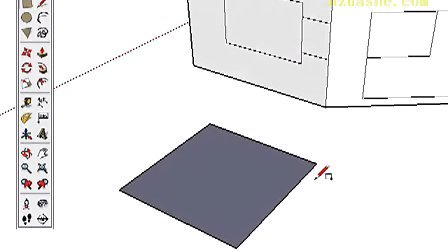 Google SketchUp Toolbar Series Rectangle