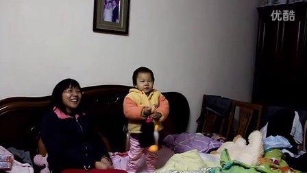 20101212-蒙蒙跳舞-伊比呀呀-巧虎餐具组
