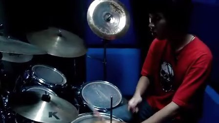 YUI cover again drum