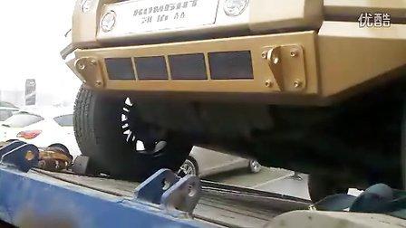 唐山惊险全球最贵防弹装甲SUV凯佰赫战盾(低音酷车)_标清