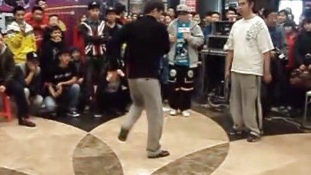 华联杯街舞大赛 poppin16进8 唐飞 vs 大C