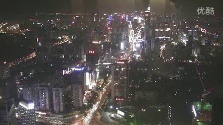 地王大厦拍深圳夜景