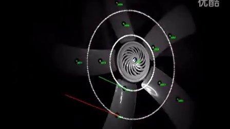 旋转机械三维运动轨迹姿态检测