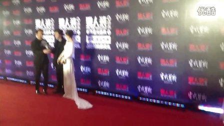 20131201【男人装2013年度星光盛典—戚薇】 红毯部分