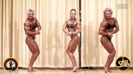 11年德国地方女子健身健美比赛录像3