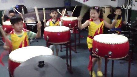 新乡摩卡打击乐俱乐部 中国鼓表演