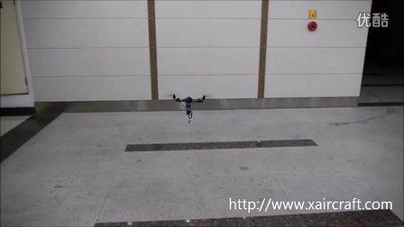 XAircraft FC1212-S飞控  1.34 T2(2轴)测试