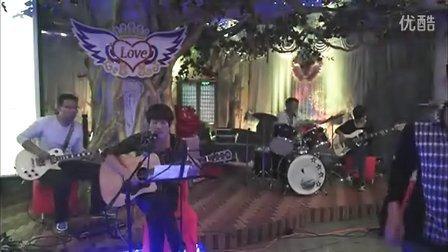 《给你们》《小薇》乐队婚礼现场