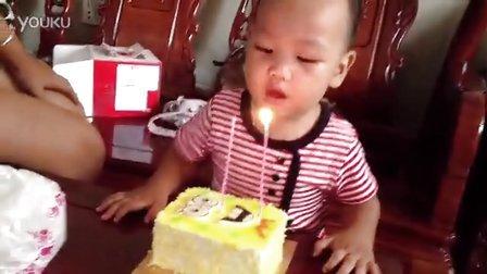 16个月搞笑唱生日歌