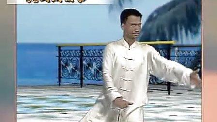陳思坦三十二式太極拳正面演練 標清
