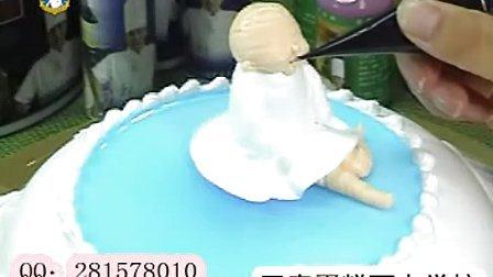 王森蛋糕之人物卡通蛋糕制作4