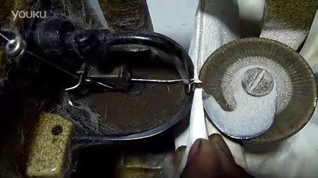 如何使用飞人缝皮机裘皮机 操作过程