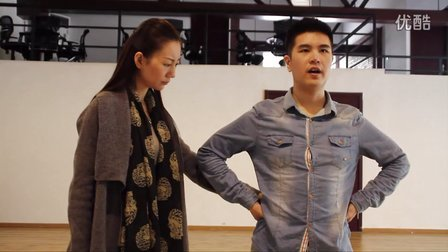 芮歌文化专业表演考前培训—发声练习 强调声音直线传达