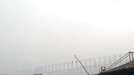 浙江华润苍南斗轮堆取料机堆煤-华电重工