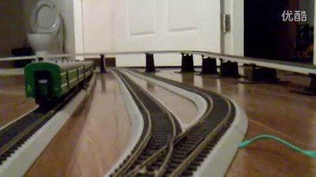 快速列车追踪直特列车