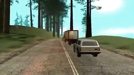 巨作!2011圣安地列斯SA游戏动作电影《卡车司机》