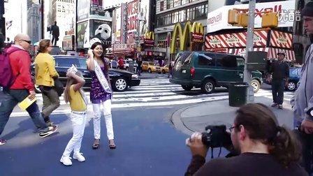 时代广场儿童摄影---纽约