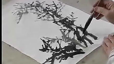 【山水画技法初级班 第一部】第三讲 杏花春雨
