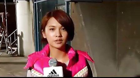 【adidas】Winter Jacket 20111115 杨丞琳广告拍摄访问