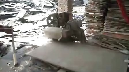 旧建筑模板多片锯,小条多片锯视频