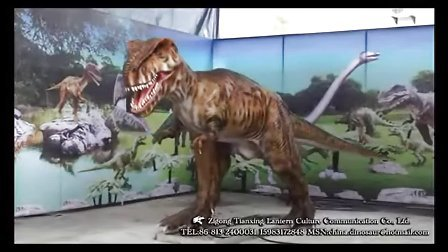 仿真恐龙制作公司--霸王龙2