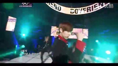 别碰我的女人 KBS音乐银行现场版 11_10_14 Boyfriend