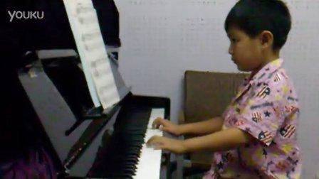 天之籁琴行 梁俊宇 钢琴弹奏 《圣诞夜》
