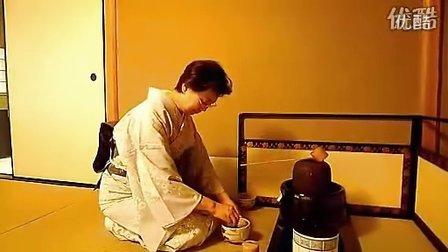 茶道表演 日本宇治抹茶茶道