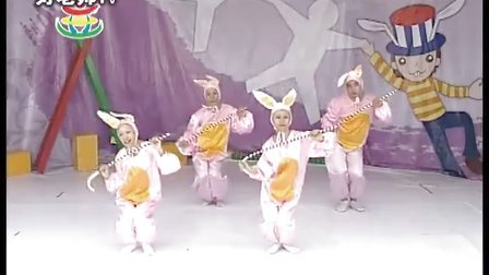 [幼儿园体育律动] 欢乐大天使系列《爱跳舞的小白兔》林老师的舞动世界