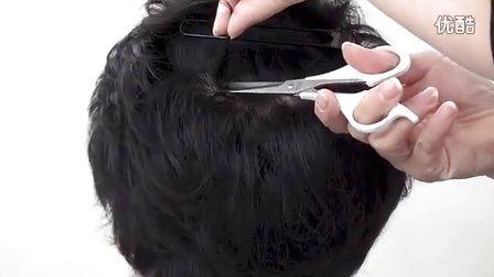 毛发矿物质检验之毛发的采取方法~男性篇(日语)