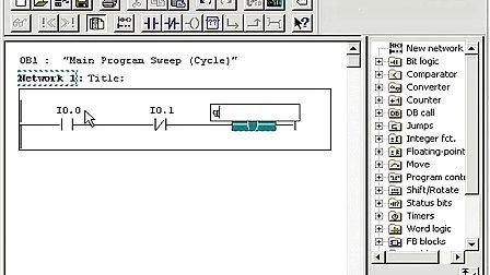 STEP7及PLCSIM的使用视频教程STEP7视频教程之编程第3集创建一个线性程序.flv