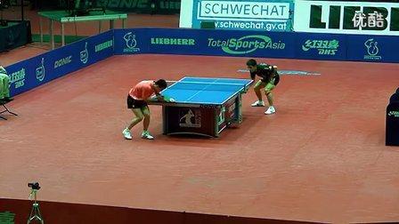2011年奥地利公开赛决赛:马龙vs张继科