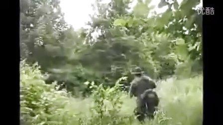 美国民兵军事训练过程