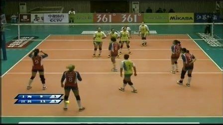 2013年11月30日中国女排联赛第1轮 上海VS江苏 第三局
