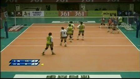 2013年11月30日中国女排联赛第1轮 上海VS江苏 第四局