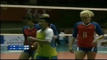 2013年11月30日中国女排联赛第1轮 上海VS江苏 决胜局