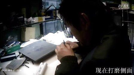 手工打磨笔尖 新钢笔磨尖全程视频 有文字解说