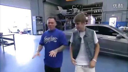 Justin Bieber Inside West Coast Customs