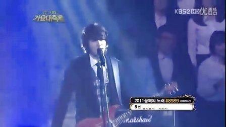 【M漠o】CNBLUE  直觉 2011KBS歌谣大祝祭现场版