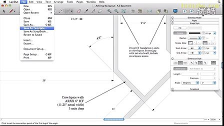 Google SketchUp 8 Drafting in LayOut